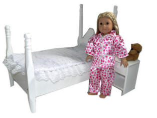 american doll bed