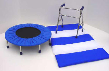 18 inch doll mat and walker for disabled children