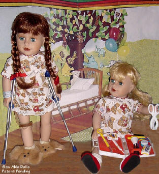 disabled dolls are able dolls and strong too