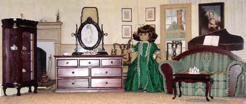 Wood & Upholstered Doll furniture for American Girl dolls