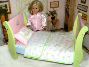 doll Sleigh Bed