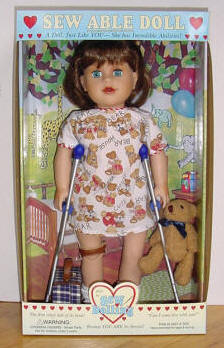 Play therapy dolls