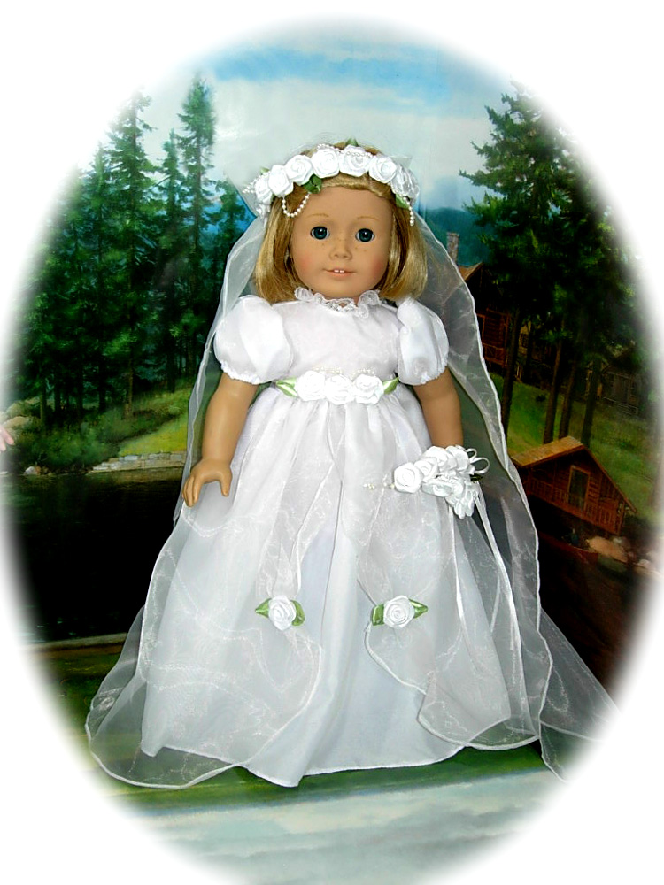 American girl doll wedding dress images for American girl wedding dress
