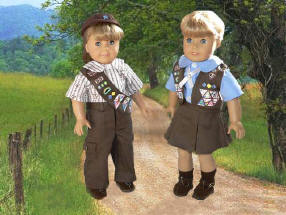 Brownie Girl Scout Doll Clothes