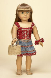 American girl vacation outfit