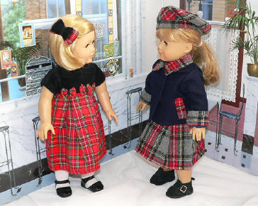 Christmas & Hannukah doll clothing!