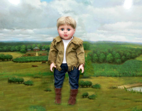 Doll Clothes 18 inch boy western