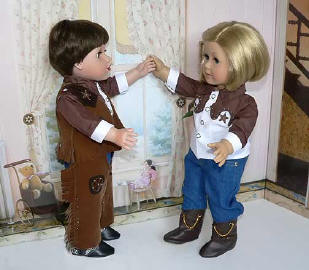 Cowboy Outfits for 18 inch dolls