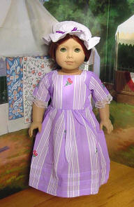 Lavender gown for felicity