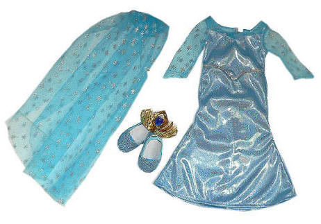 Doll dress like Elsa on Frozen®
