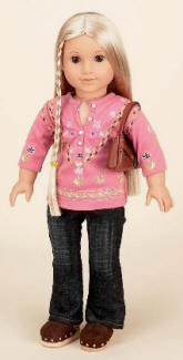 american girl doll Hippie outfit