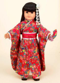 Kimono for your American Girl doll