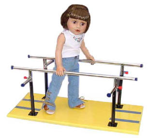 doll parallel bars for play therapy