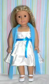 party dress american girl doll