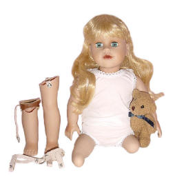 disabled dolls for play therapy teachers