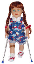 play therapy dolls like american girl