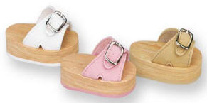 Footwear for dolls -  Buckle Sandals