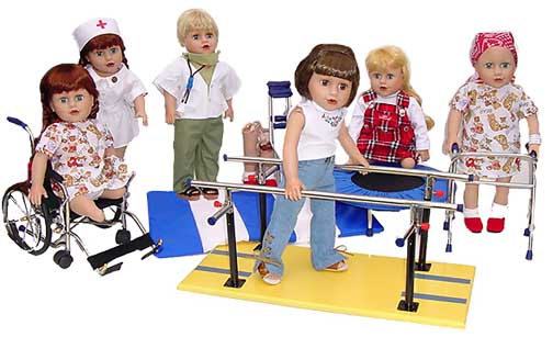 disabled dolls for play therapy