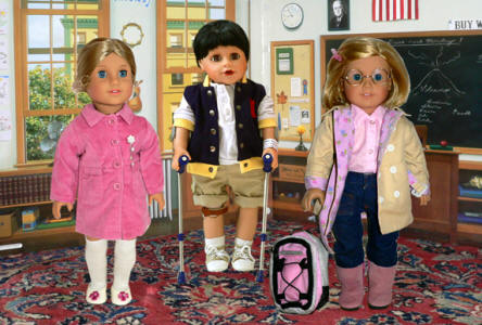 american girl doll picture day