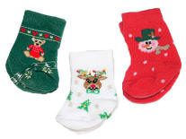Christmas socks for dolls!