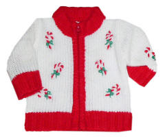 Christmas holiday sweater for 18 inch dolls