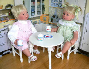doll kitchen set