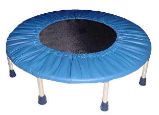 trampoline for fun therapy
