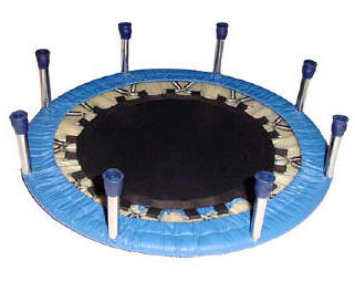trampoline safe for toys and children