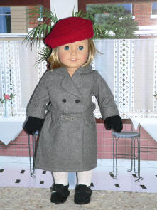 American girl doll coat